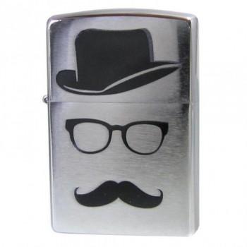 Зажигалка Zippo Moustache and Hat 28648 - купить (заказать), узнать цену - Охотничий супермаркет Стрелец г. Екатеринбург