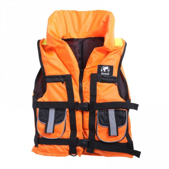 Жилет спасательный с подголовником «Докер» 120 кг - купить (заказать), узнать цену - Охотничий супермаркет Стрелец г. Екатеринбург