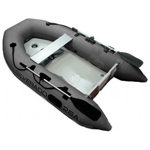 Лодка надувная SILVERADO 28А темно-серая - купить (заказать), узнать цену - Охотничий супермаркет Стрелец г. Екатеринбург