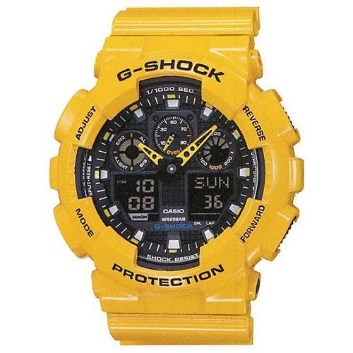Часы CASIO GA-100A-9A - купить (заказать), узнать цену - Охотничий супермаркет Стрелец г. Екатеринбург