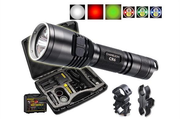 Фонарь Nitecore CR6 Red Light Hunting Kit - купить (заказать), узнать цену - Охотничий супермаркет Стрелец г. Екатеринбург