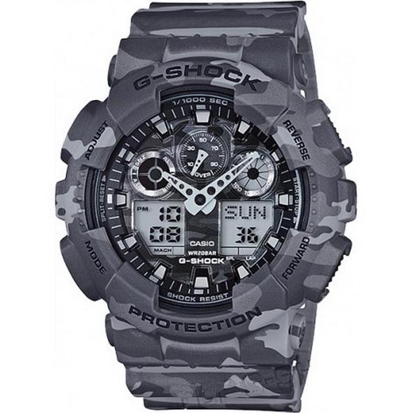 Часы CASIO G-SHOCK GA-100CM-8A - купить (заказать), узнать цену - Охотничий супермаркет Стрелец г. Екатеринбург