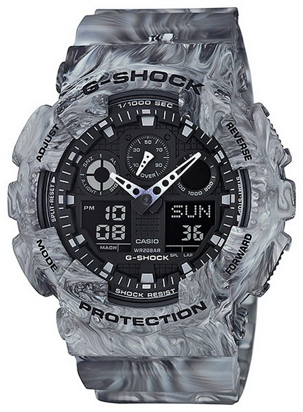 Часы CASIO G-SHOCK GA-100MM-8A - купить (заказать), узнать цену - Охотничий супермаркет Стрелец г. Екатеринбург