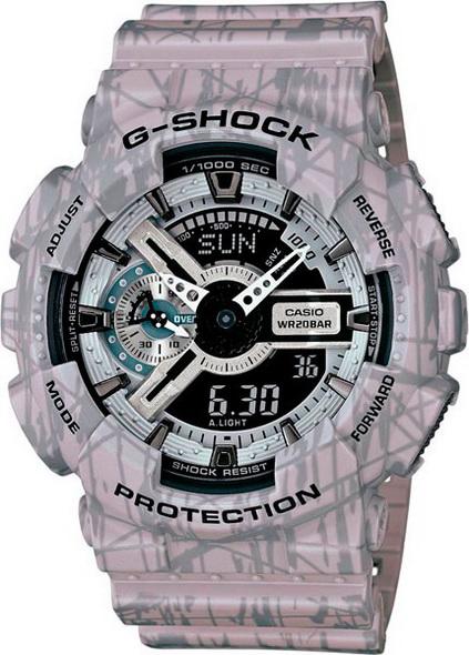 Часы CASIO G-SHOCK GA-110SL-8A - купить (заказать), узнать цену - Охотничий супермаркет Стрелец г. Екатеринбург