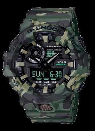 Часы CASIO GA-700CM-3A - купить (заказать), узнать цену - Охотничий супермаркет Стрелец г. Екатеринбург