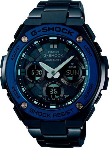 Часы CASIO G-SHOCK GST-W110BD-1A2 - купить (заказать), узнать цену - Охотничий супермаркет Стрелец г. Екатеринбург