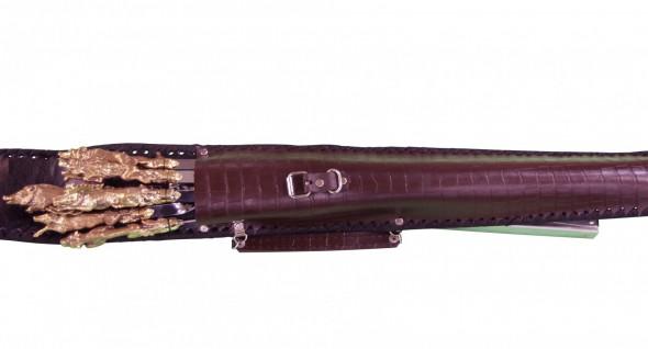 Набор шашлычный НШ 7 К+Б (цельнометаллический) - купить (заказать), узнать цену - Охотничий супермаркет Стрелец г. Екатеринбург