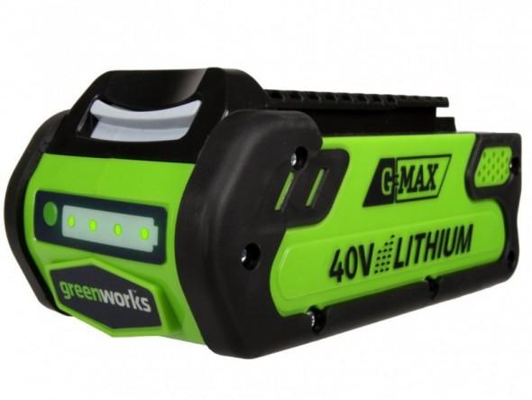 Аккумулятор Greenworks G40B2 40В, Li-Ion, 2 Ач 29717 - купить (заказать), узнать цену - Охотничий супермаркет Стрелец г. Екатеринбург