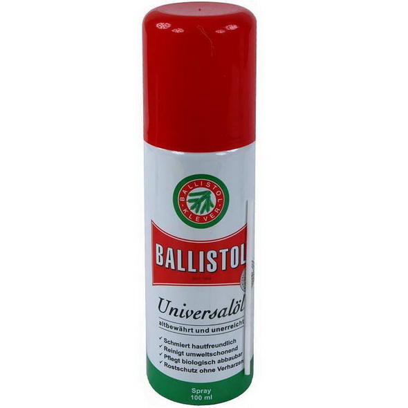 Масло оружейное Ballistol spray 100ml - купить (заказать), узнать цену - Охотничий супермаркет Стрелец г. Екатеринбург