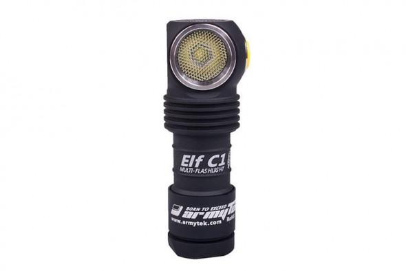 Фонарь Armytek Elf C1 XP-L USB (Серебро) - купить (заказать), узнать цену - Охотничий супермаркет Стрелец г. Екатеринбург