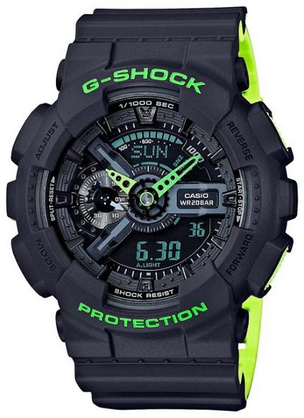 Часы CASIO GA-110LN-8A - купить (заказать), узнать цену - Охотничий супермаркет Стрелец г. Екатеринбург