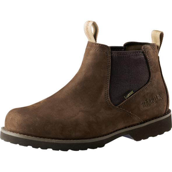 Ботинки Harkila Sporting Chelsea III GTX 7 Dark brown - купить (заказать), узнать цену - Охотничий супермаркет Стрелец г. Екатеринбург