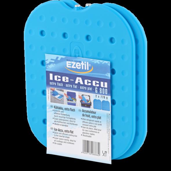 Аккумулятор холода Ezetil Ice Akku G 800 в жестком корпусе 2x770 г - купить (заказать), узнать цену - Охотничий супермаркет Стрелец г. Екатеринбург
