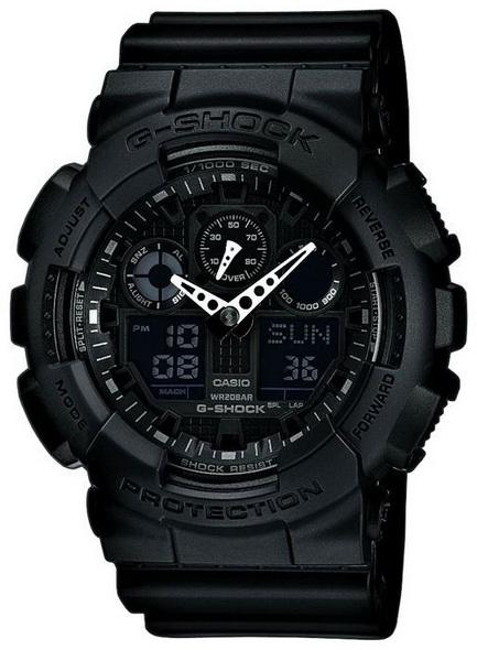 Часы CASIO G-SHOCK GA-100-1A1 - купить (заказать), узнать цену - Охотничий супермаркет Стрелец г. Екатеринбург