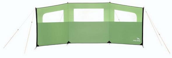 Ветрозащитная панель с окнами Easy Camp Great Wall Green 400x150 - купить (заказать), узнать цену - Охотничий супермаркет Стрелец г. Екатеринбург