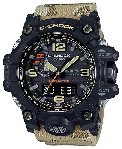 Часы CASIO GWG-1000DC-1A5 - купить (заказать), узнать цену - Охотничий супермаркет Стрелец г. Екатеринбург