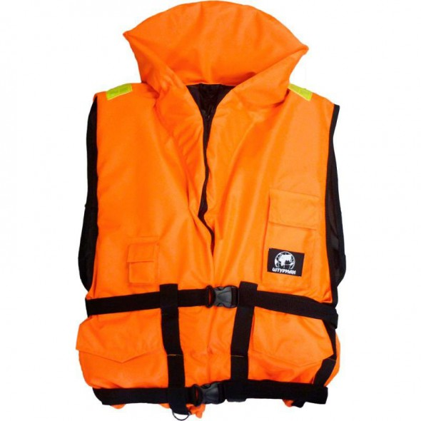 Жилет спасательный «Штурман» цвет сигнальный 80 кг - купить (заказать), узнать цену - Охотничий супермаркет Стрелец г. Екатеринбург