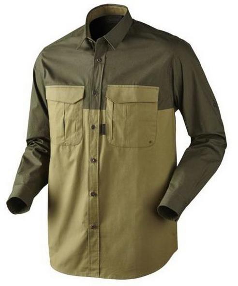 Рубашка Harkila Trekking Shirt Duffel Green - купить (заказать), узнать цену - Охотничий супермаркет Стрелец г. Екатеринбург