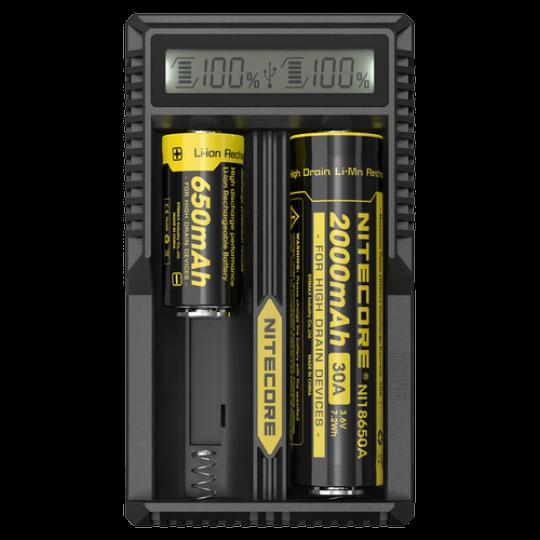 Зарядное устройство Nitecore UM20 18650 /16340 - купить (заказать), узнать цену - Охотничий супермаркет Стрелец г. Екатеринбург