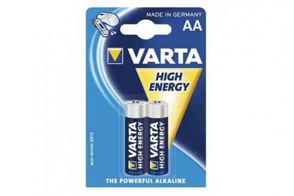 Э/п Varta 4906 High Energy LR6/316 BL2 - купить (заказать), узнать цену - Охотничий супермаркет Стрелец г. Екатеринбург