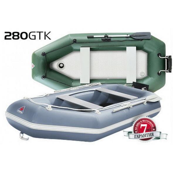 Лодка надувная YUKONA 280 GTK серая без транца - купить (заказать), узнать цену - Охотничий супермаркет Стрелец г. Екатеринбург
