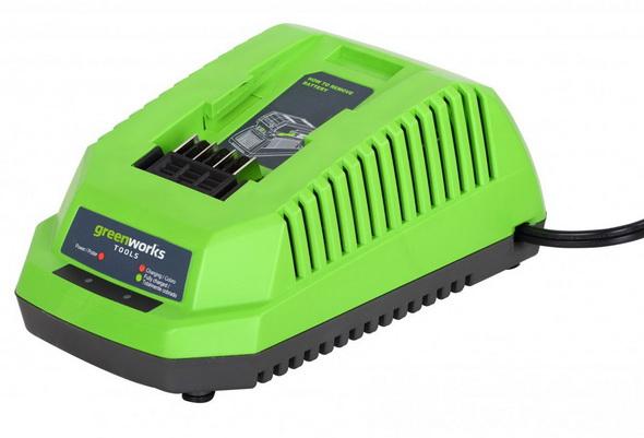 Зарядное устройство Greenworks G40С  40V - купить (заказать), узнать цену - Охотничий супермаркет Стрелец г. Екатеринбург