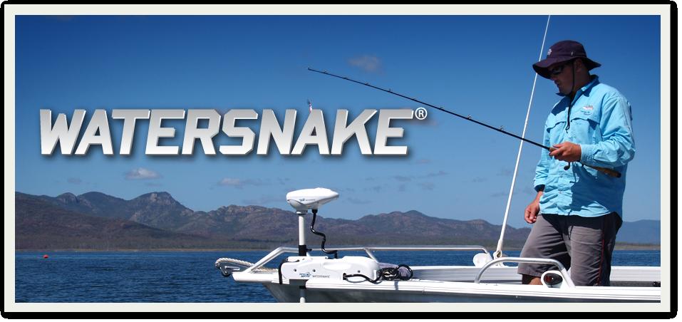 watersnake лодочные электромоторы
